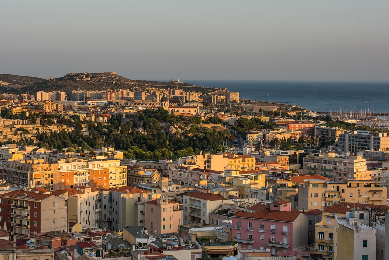 Cagliari in Sardegna